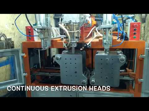 AGRO CHEMICAL / PESTICIDE BOTTLE MANUFACTURING MACHINE