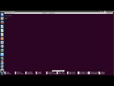 Créer Un Script Sur Linux