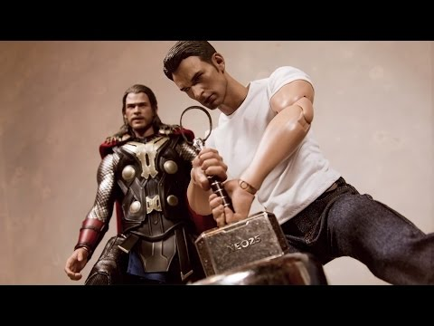 Captain America - I can do this all day (Stop Motion)