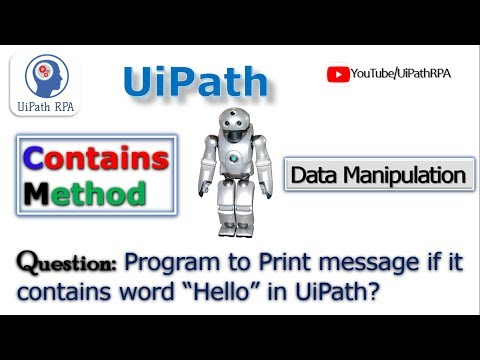 Repeat UiPath - Split Function For Strings by KB Tutorials - You2Repeat