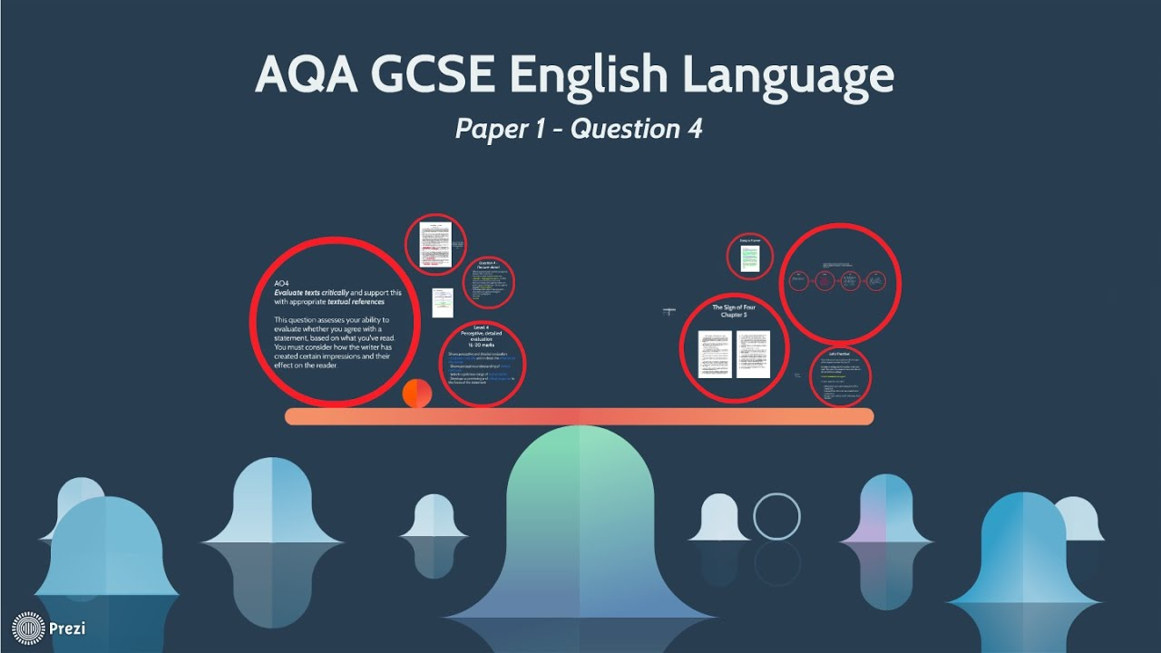 english awa gcse paper question compare