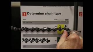 Home Depot(R) Saw Chain Selector Guide