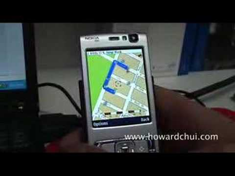 Nokia n95 Mapping Software Demo