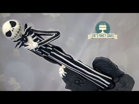 Jack Skellington cake topper The Nightmare Before Christmas