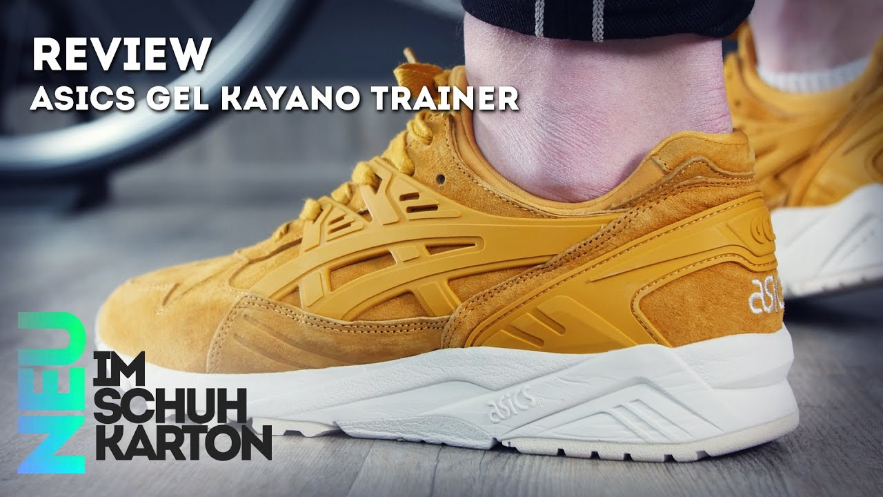 free shipping 1cee2 ead9d Asics Gel Kayano Trainer | Review