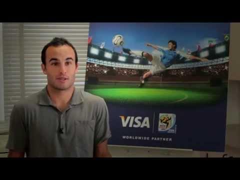 Visa Inc , Landon Donovan & Jack O