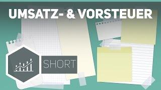 Umsatzsteuer und Vorsteuer - Grundbegriffe der Wirtschaft ● Gehe auf SIMPLECLUB.DE/GO