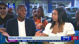 Apollo Teen takeover: Meet the rising stars on and off stage