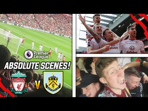 ABSOLUTE SCENES!! - LIVERPOOL 1-1 BURNLEY AWAY DAY VLOG!!