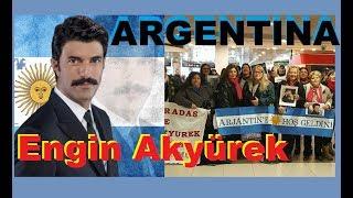 Engin Akyürek EN ARGENTINA , ACTOR TURCO