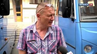 луганск 24. В ЛНР закупили новые автобусы для соц.сферы. 17 июля 2014 г