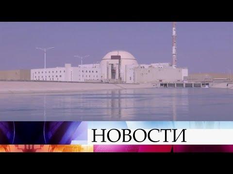 Смотреть Наатомной электростанции «Бушер» вИране начались строительные работы. онлайн