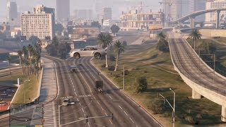 GTA 5: 3 Extremely Big jumps!