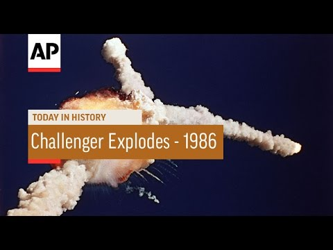 Space Shuttle Challenger Explodes - 1986 | Today In History | 28 Jan 17 - YouTube