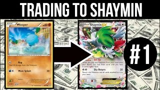 Trading To Shaymin #1 | Small Beginnings | Pokemon Trading Card Game Online
