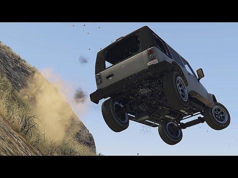 GTA 5 Satisfying Car Crashes Compilation!!! thumbnail
