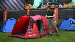 Eurohike Avon Deluxe 3 Man Tent & Eurohike Buckingham 8 Man Tent