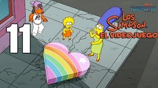 Los Simpson El videojuego Parte 11 Español Gameplay Walkthrough Xbox360/PS3