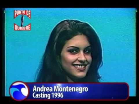 PUNTO DE QUIEBRE  ANDREA MONTENEGRO casting 1996