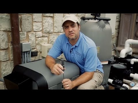 How to Video on Jandy JXI Heater Hood Reversal