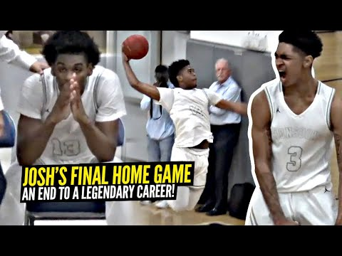 Josh Christopher FINAL Home Game of His High School Career! Mayfair vs Windward BATTLE in Playoffs! |