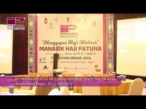 PATUNA TRAVEL - Keberangkatan Rombongan Jamaah Umrah Milad Patuna 17 Mar 2019.