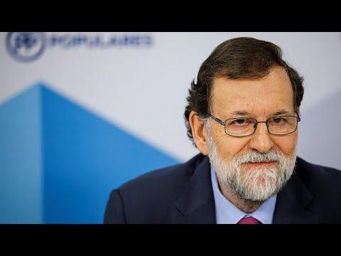 Rajoy rejeita investidura de Carles Puigdemont à distância
