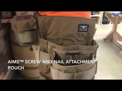 Screw and nail attachment pouch