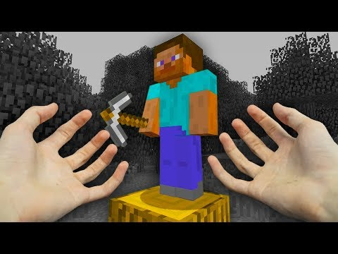 REALISTIC MINECRAFT - STEVE GOES TO THE PAST!