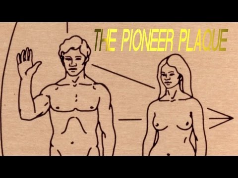 9 facts about: THE PIONEER PLAQUE