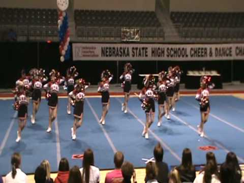 2010 Nebraska State Cheer and Dance