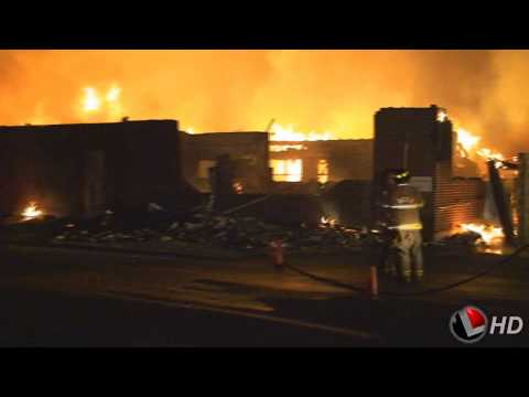 Hector Elementary School Engulfed in Flames