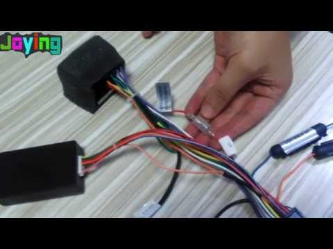 Car DVD player Canbus cable instructions for Volkswagen
