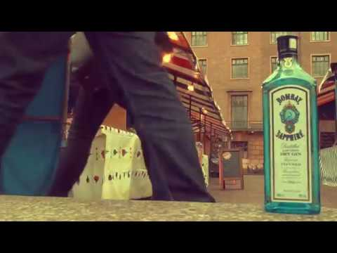 Bombay Sapphire commercial inspired