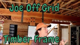 Timber Framing With Steel Connections.