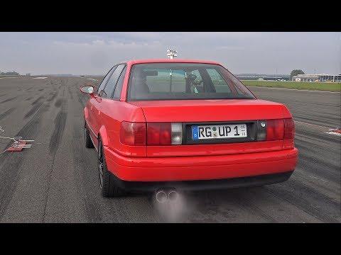 930HP AUDI 80 VR6 TURBO BRUTAL SOUNDS!