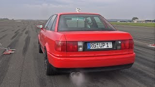 930HP AUDI 80 VR6 TURBO BRUTAL SOUNDS!