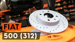 Watch the video guide on FIAT DUCATO Box (244) Brake discs and rotors replacement
