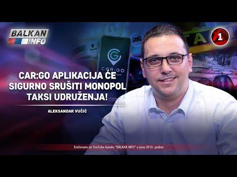 INTERVJU: Aleksandar Vučić - CarGo aplikacija će srušiti monopol taksi udruženja! (25.6.2019)