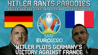 Hitler plots Germany's victory against France