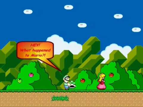 Super Mario World-Peach Does The Sweet Escape