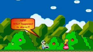 Super Mario World-Peach Does The Sweet Escape