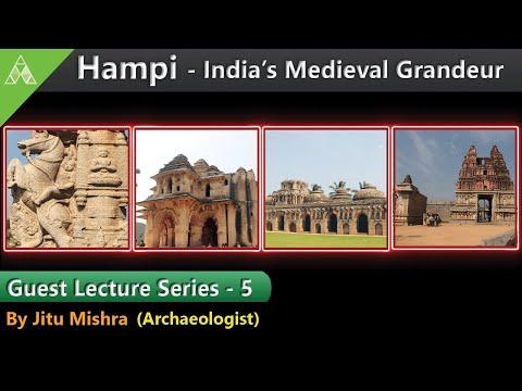 🔊Guest Lecture Series-5|Hampi – India's Medieval Grandeur|Jitu Mishra|Aveti Learning