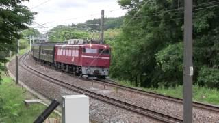 2015-06-06 臨9121列車 EF81 97+旧型客車