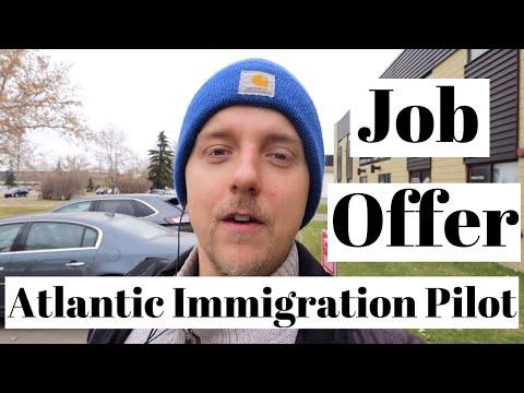 Job Offer | Atlantic Immigration Pilot Program | AIPP