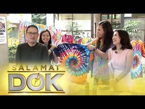 [VIDEO] - Salamat Dok: How to tie-dye an old white shirt 7