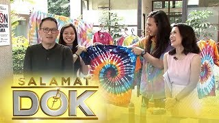 Salamat Dok: How to tie-dye an old white shirt