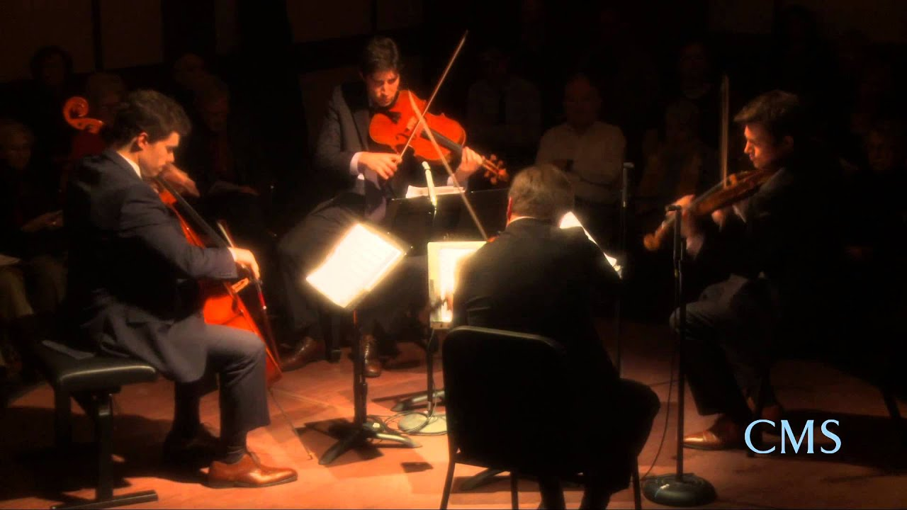 Britten - Quartet No. 3, Mvt. 4 - Escher String Quartet - CMS