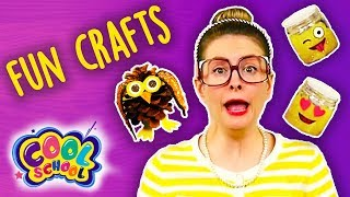 3 Fun Crafts to Do When You're Bored! Craft Compilation | Arts and Crafts with Crafty Carol