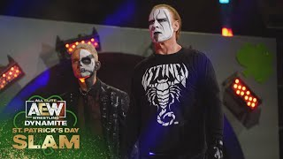 Everyone Wants a Piece of Sting & the TNT Champion Darby Allin | AEW Dynamite St. Patrick's Day Slam